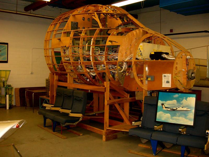Dash 8 Cockpit Mockup