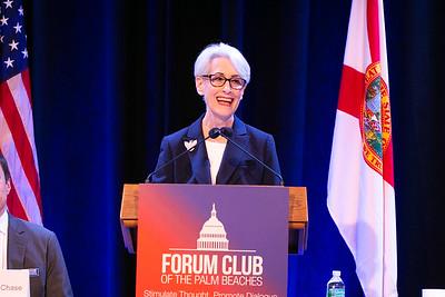 Ambassador Wendy Sherman 1.9.19