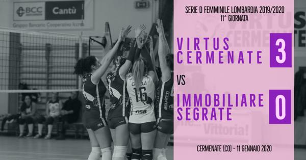 LOM-Df: 11^ Virtus Cermenate - Immobiliare Segrate