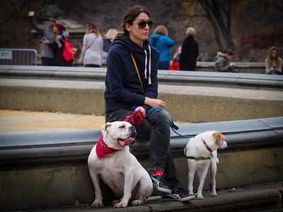 Stefanie, Lucy & Moby