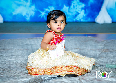 Shriya 1stBirthday