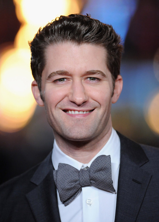 """. Matthew Morrison attends the \""""Les Miserables\"""" World Premiere at the Odeon Leicester Square on December 5, 2012 in London, England.  (Photo by Stuart Wilson/Getty Images)"""