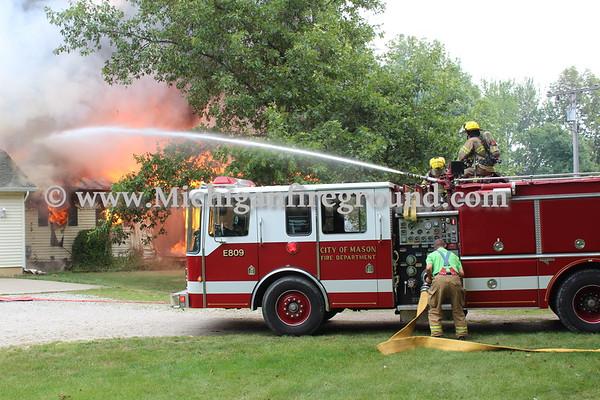 7/24/18 - Leslie house explosion, 1090 Vaughn Rd