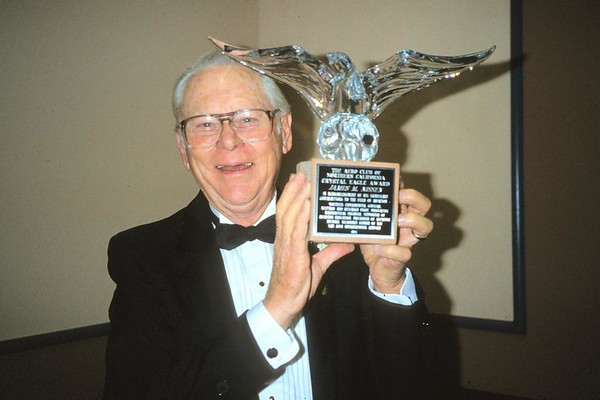 Crystal Eagle Dinner 1987
