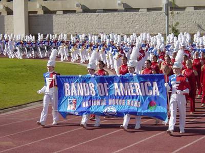 1-1-05 BOA Honor Band at Rose Bowl