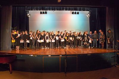Awards, Warm-up, & Singing