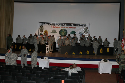 8th BDE Drill SGT Hat Ceremony