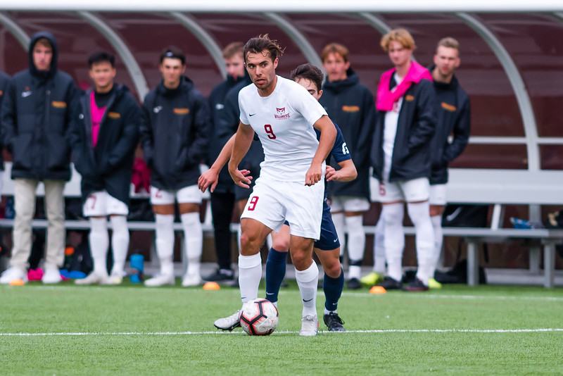Men's Soccer: Willamette Bearcats vs George Fox Bruins