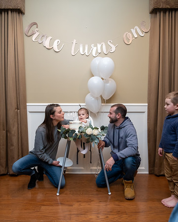 Grace's First Birthday