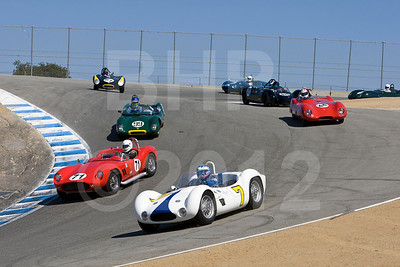 2012 Monterey Pre-Reunion Saturday Group 6 1955-1961 Sports Racing Cars