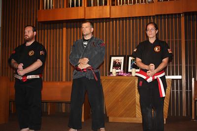 Malama Ohana 2012 Day Three Belt Promotion