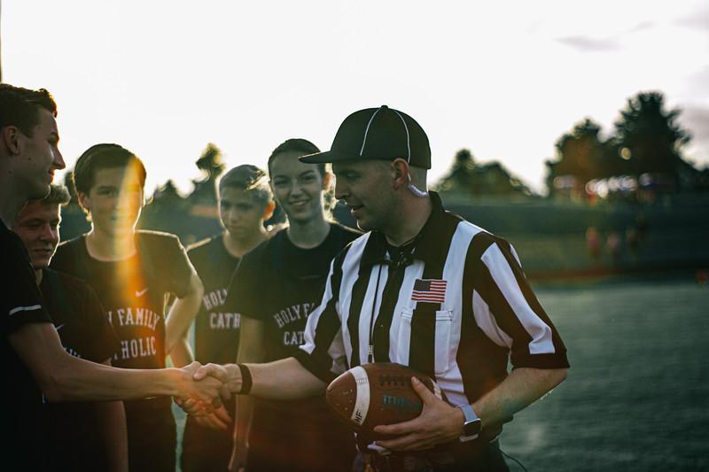 Holy Family Varsity Football vs. Dassel-Cokato, 9/6/19: Holy Family Cross Country Team