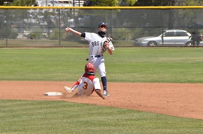 Baseball JV vs. MV