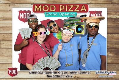 MOD PIZZA DTW North Grand Opening 2019