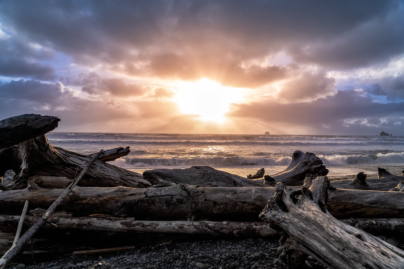 Rialto Beach Sunset