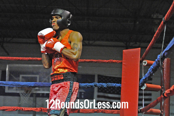Bout #2   Jermery Abrams (Cleveland) vs Lucian Clinksdale (Youngstown)