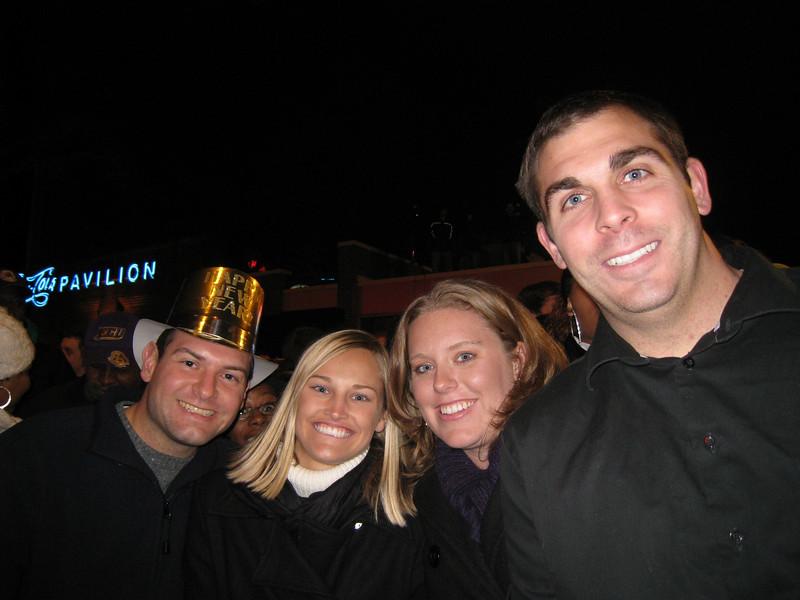 Jon, Stephanie, Lauren, Tom
