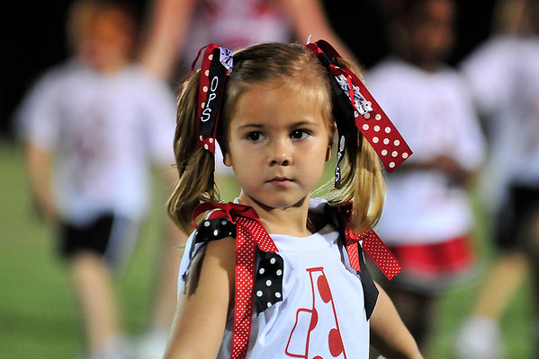 Orangeburg Prep Little Cheerleader Night Sept 2011