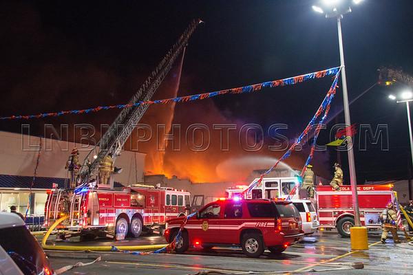 Mineola F.D. Building Fire 74 Willis Avenue 3-2-17