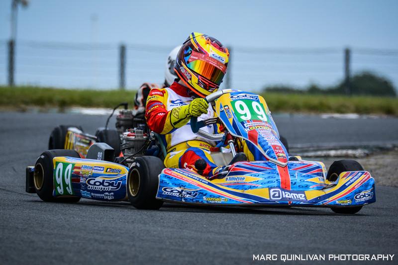 Motorsport Ireland Karting Championship 2017 - Round 6 - Mondello Park
