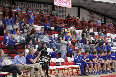 Boys Basketball, Danville vs Randolph, WI at JustAGame Fieldhouse, Wisconsin Dells, WI 1/12/2013