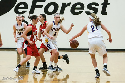 HS Sports - DeForest Girls Basketball [d] Nov 22, 2016