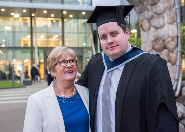Corey Whyte Graduation