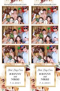 7/4/21 - Johnny & Nikki Wedding