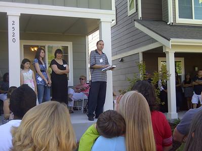 Aug. 27 Issaquah Highlands Home Dedications