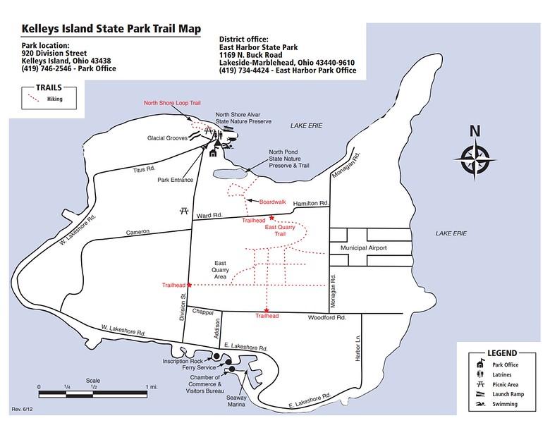 Kelleys Island State Park (Trail Map)