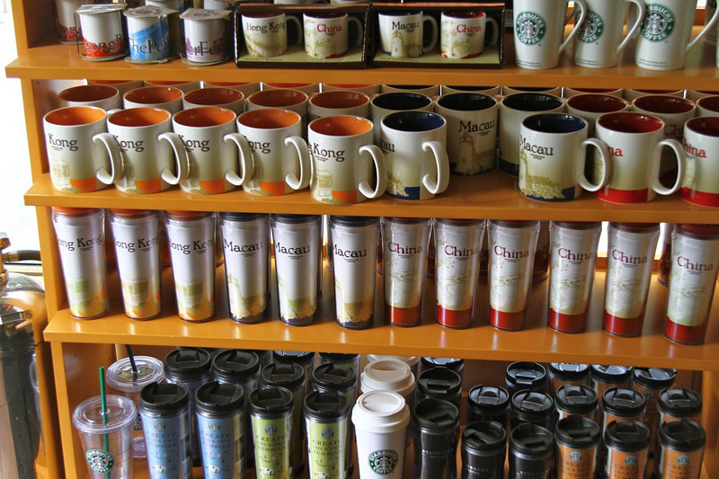 Bought a few Starbucks city mugs while we were here