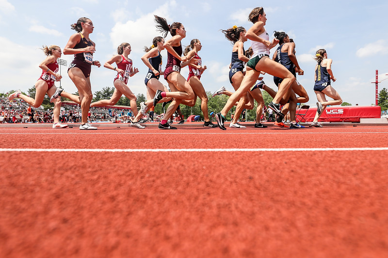 BLOOMINGTON, IN - Day two of the Outdoor Big Ten Track and Field Championships. Photo By: Steven Leonard