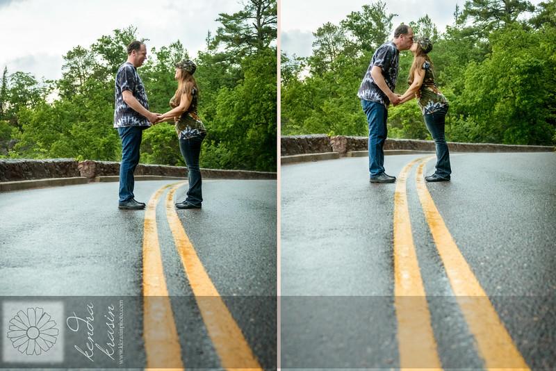 Road kiss