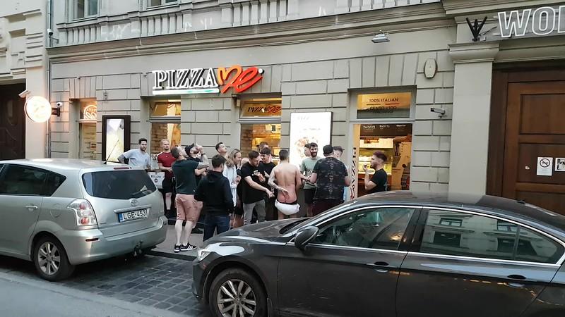 Budapest street shit