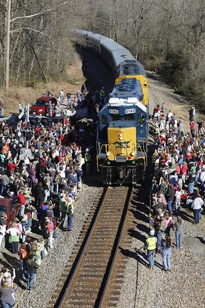 Santa Train 2013