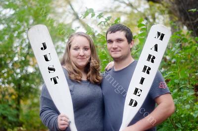Just Married - Megan & Daniel