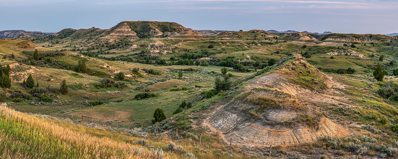 Theodore Roosevelt National Park Panorama