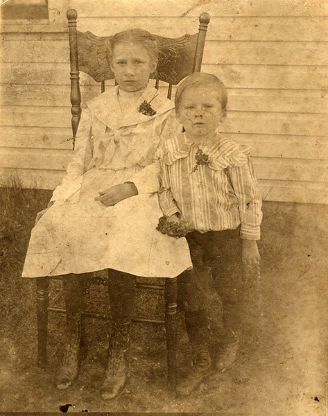 Anna and James Staley  Grandma Dodrill and her brother