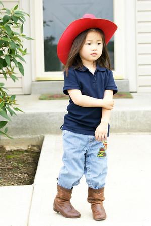 Little Cowgirl Elaine