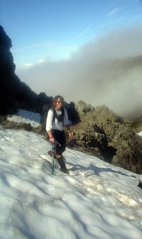 This was the traverse that was so scary last year.  Piece of cake!