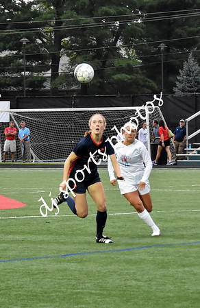 2018-08-16 SHA Girls Varsity Soccer vs West Jessamine