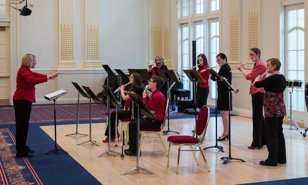 Runnin' Fl'Utes & Alumni Flute Choir Concert 4-27-13