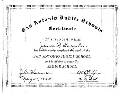 Old Garcia Family Documents & Photos