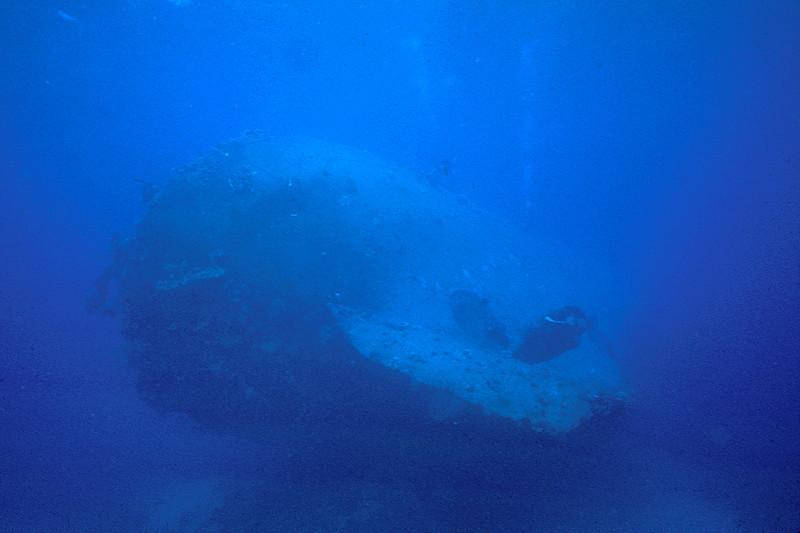 Gosei Maru, Truk Lagoon, 1982