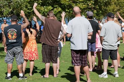 Baptism Lakeside Church Nimbus Flats 09-26-2010