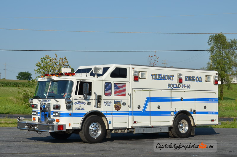 Tremont Fire Co. (Tremont Borough) Squad 67-60: 1991 Pierce