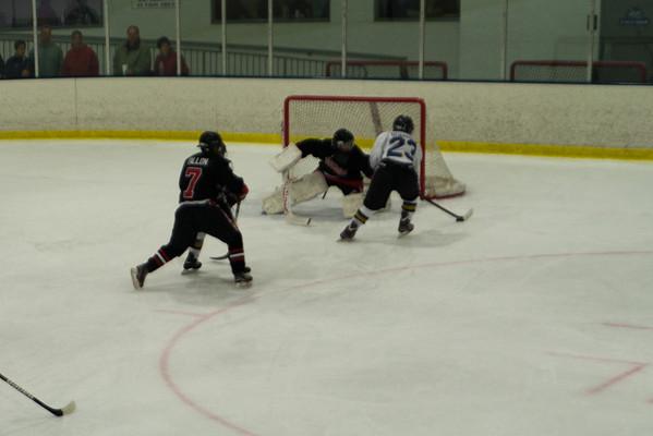 Grundy Senators Black at Hatfield Ice Dogs 16A White 11-3-2013