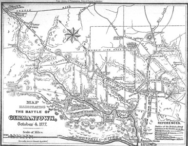 Continuing Curriculum Series: The Battle of Germantown ~ Following the march to Fort Washington