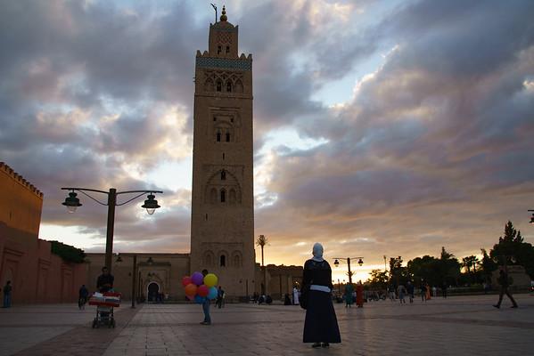 Koutabia Mosque in Marrakech