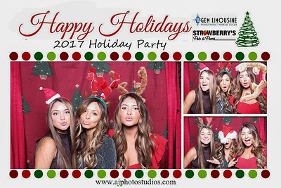 Gem-Strawberry's 2017 Holiday Party